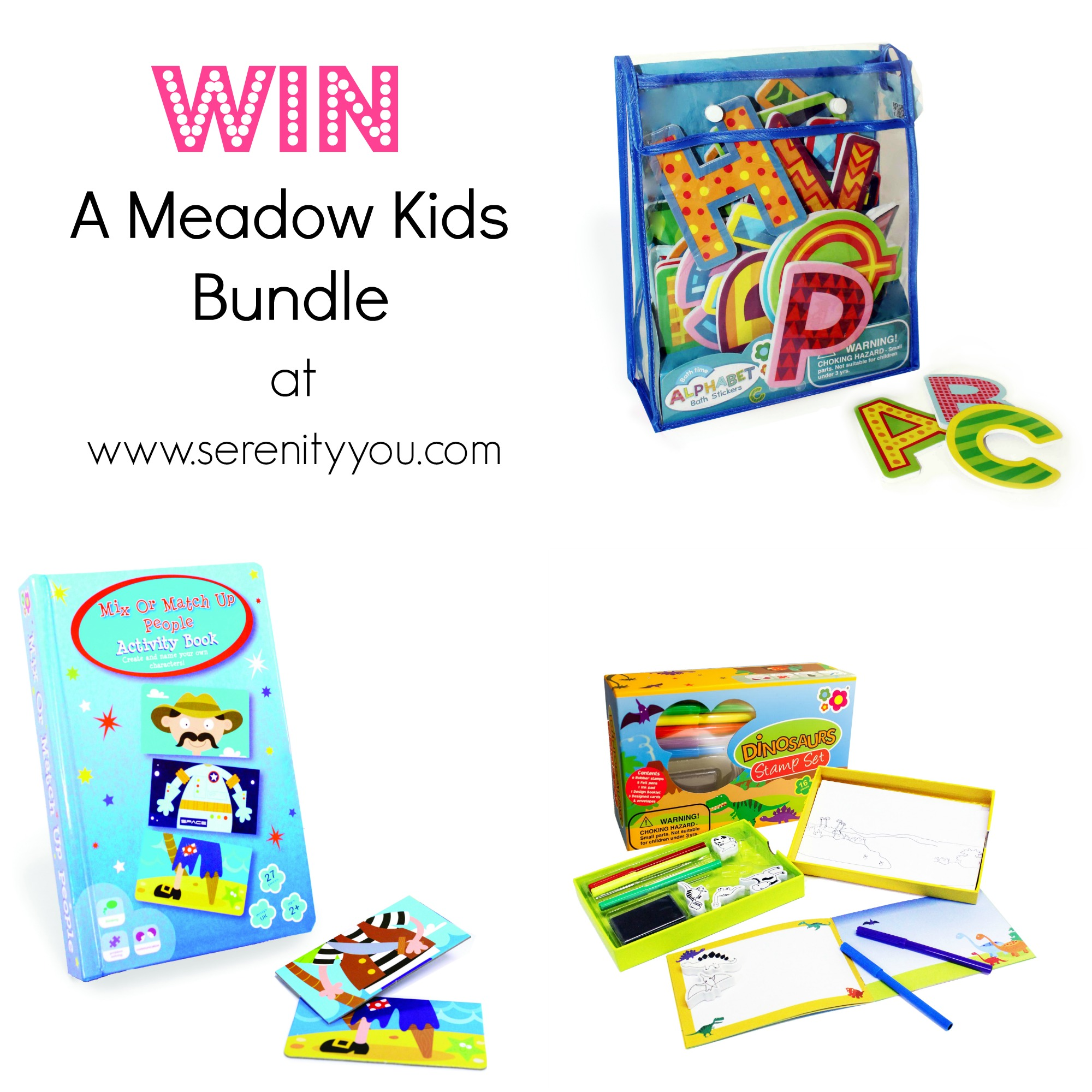 Win a Meadow Kids Toy bundle on Serenity You