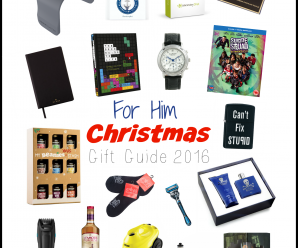 For Him Christmas Gift Guide 2016