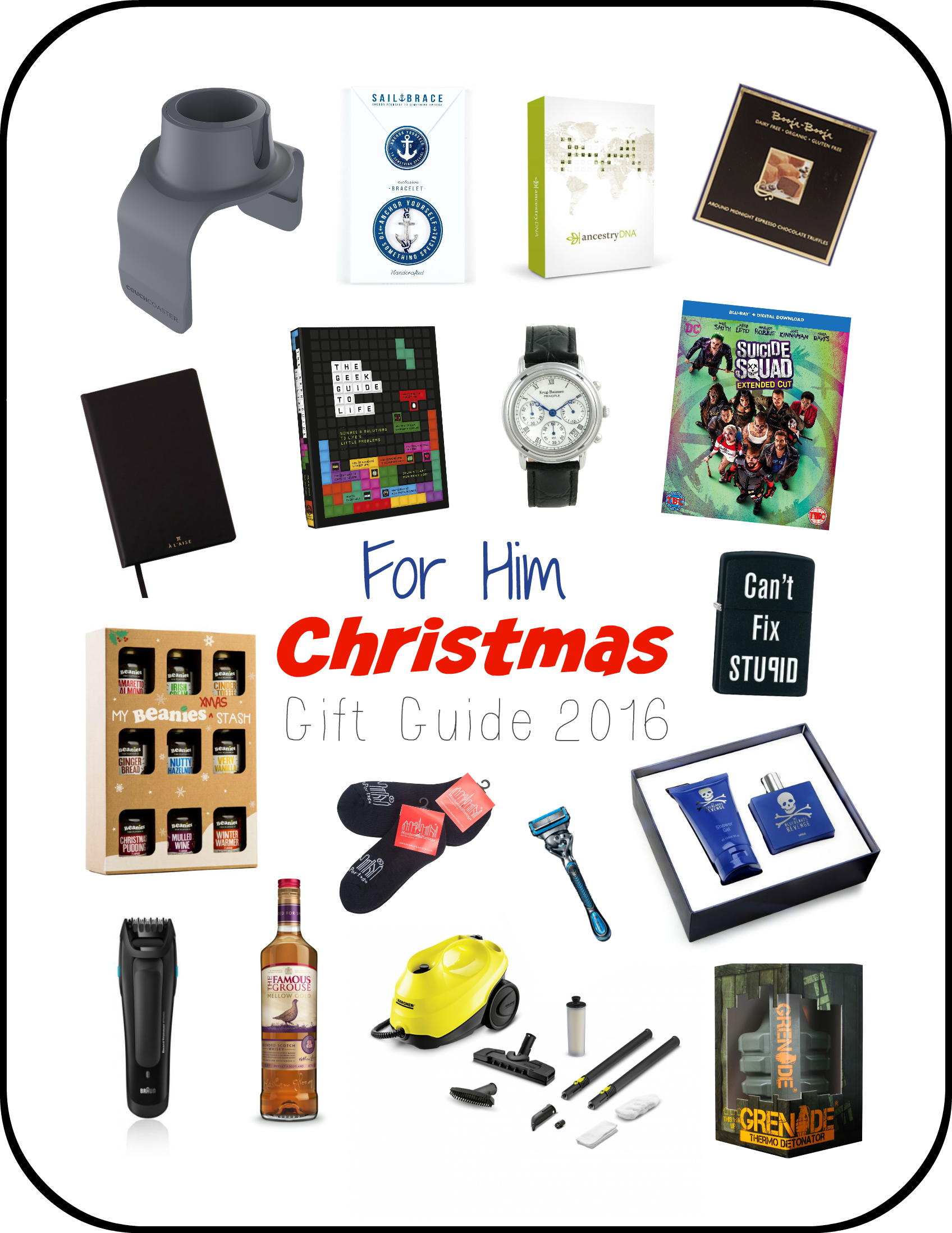 For him Christmas gift guide 2016 - serenity You