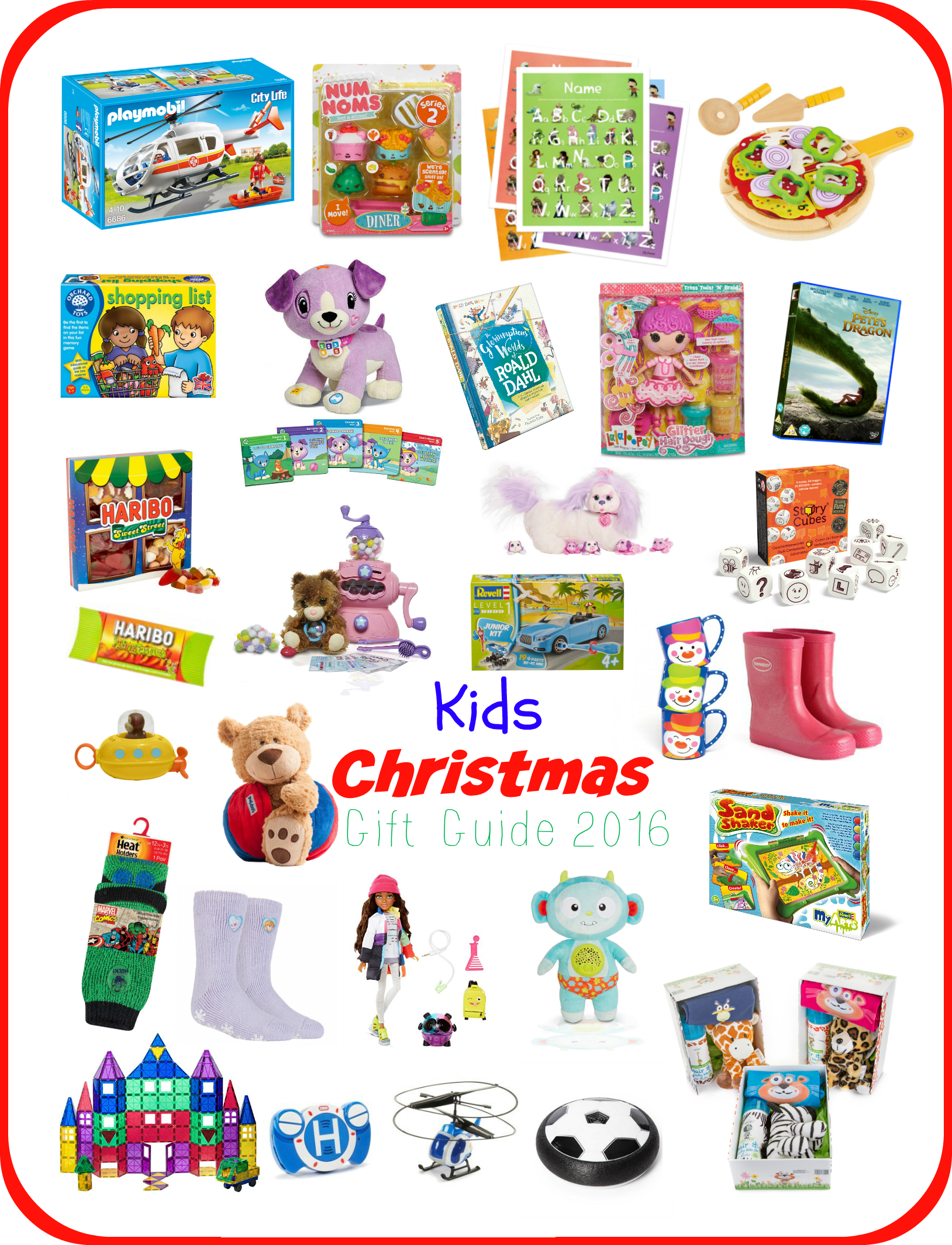 Kids Christmas Gift Guide 2016 - Serenity You