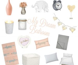 My Dream Bedroom – Pink, White & Grey