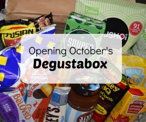Come and See What I Got in October's Degustabox