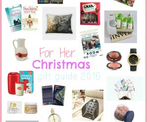 For Her Christmas Gift Guide 2016