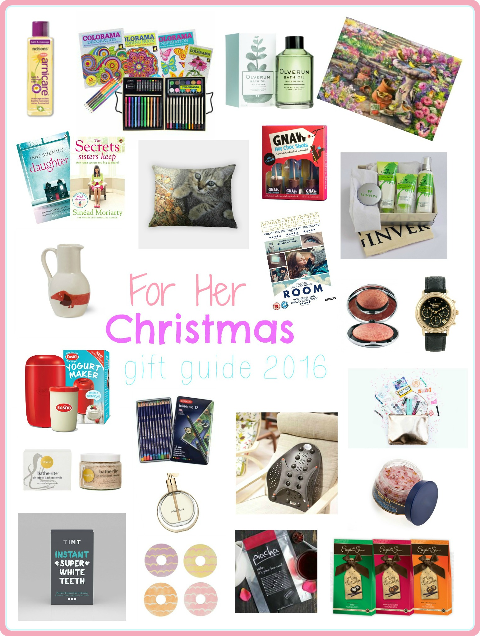 Serenity You's For Her Christmas Gift Guide 2016