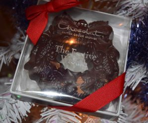 Dark Chocolate Festive Wreath from Hotel Chocolat