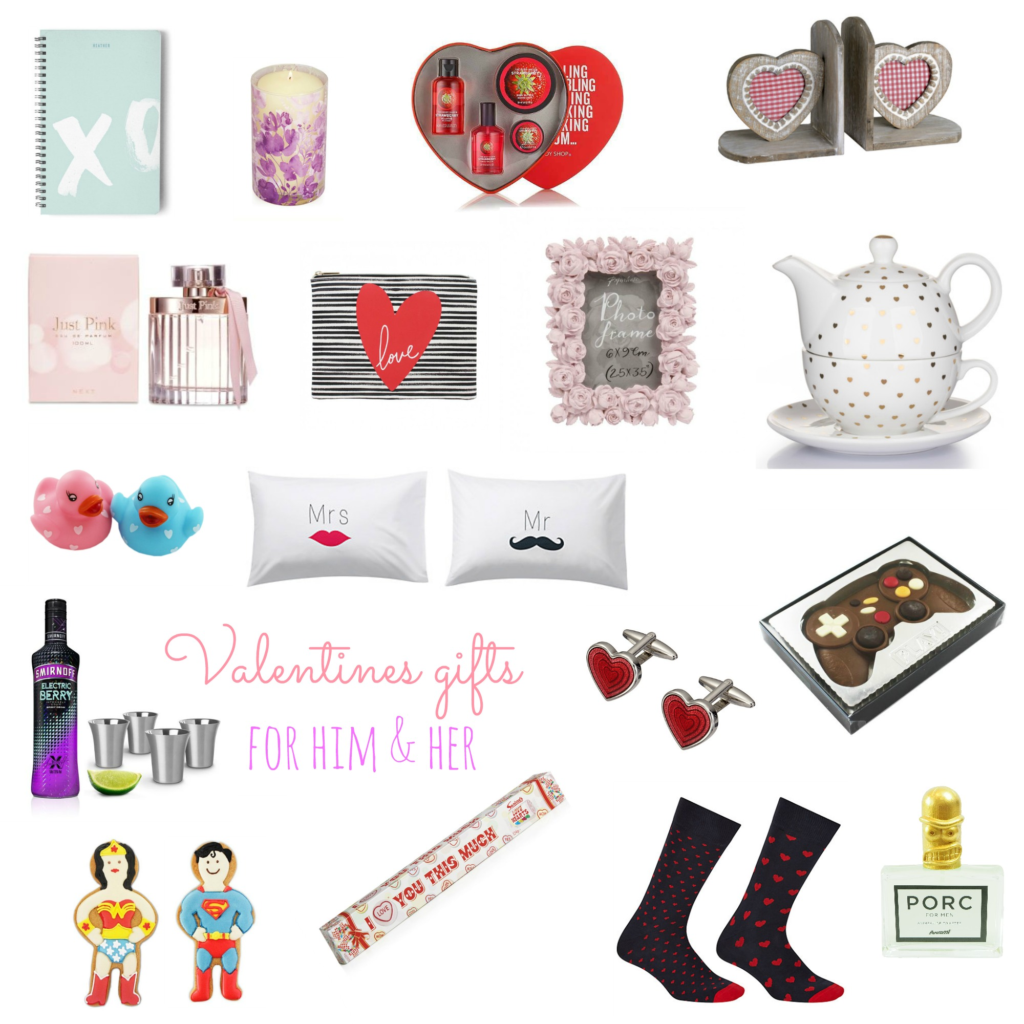 Valentines gifts for him and her on Serenity You