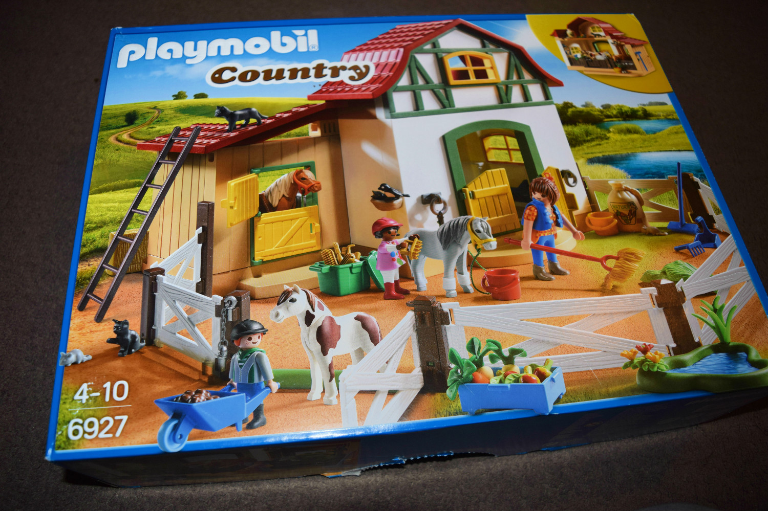 Playmobil Country Pony Farm Set review