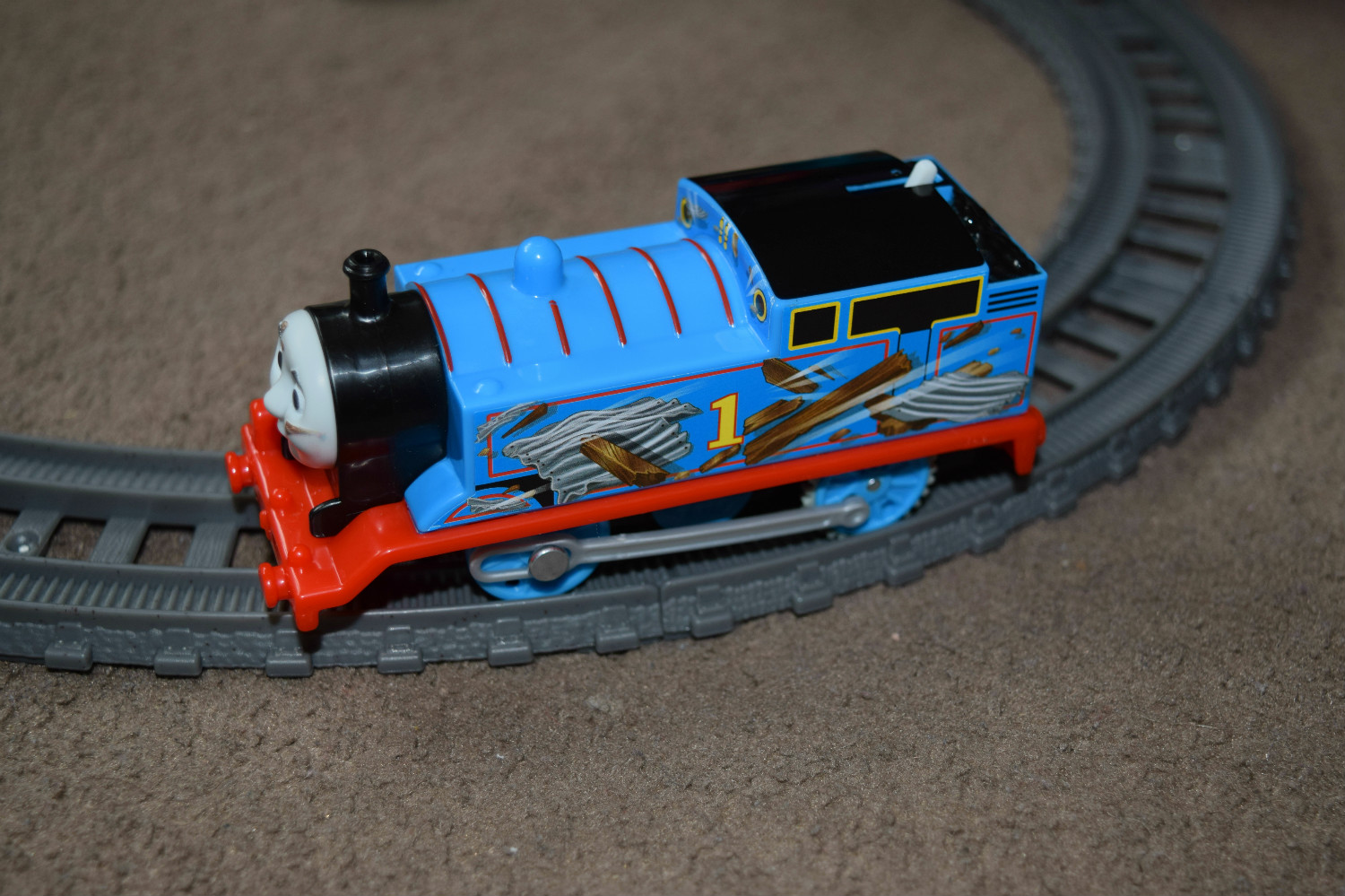 Thomas & Friends TrackMaster Demolition at the Docks Review