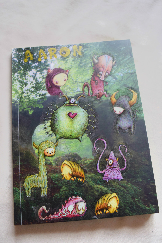 Creatures Stickerbomb Journal Book