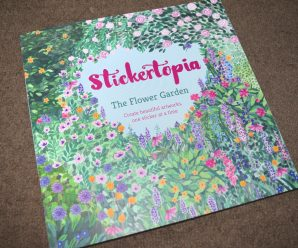 Stickertopia – The Flower Garden Review + Giveaway