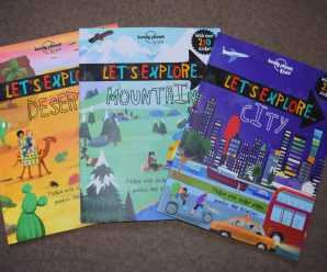 Let's Explore Activity Books Review + Giveaway
