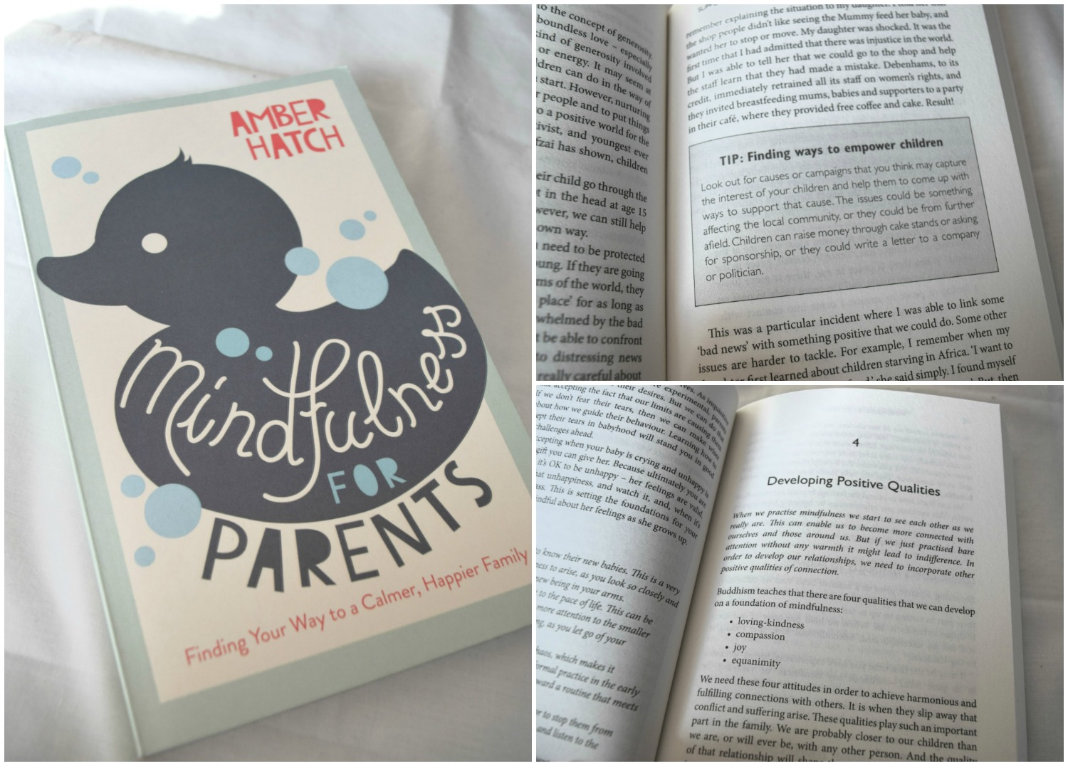 Mindfulness for Parents by Amber Hatch book review