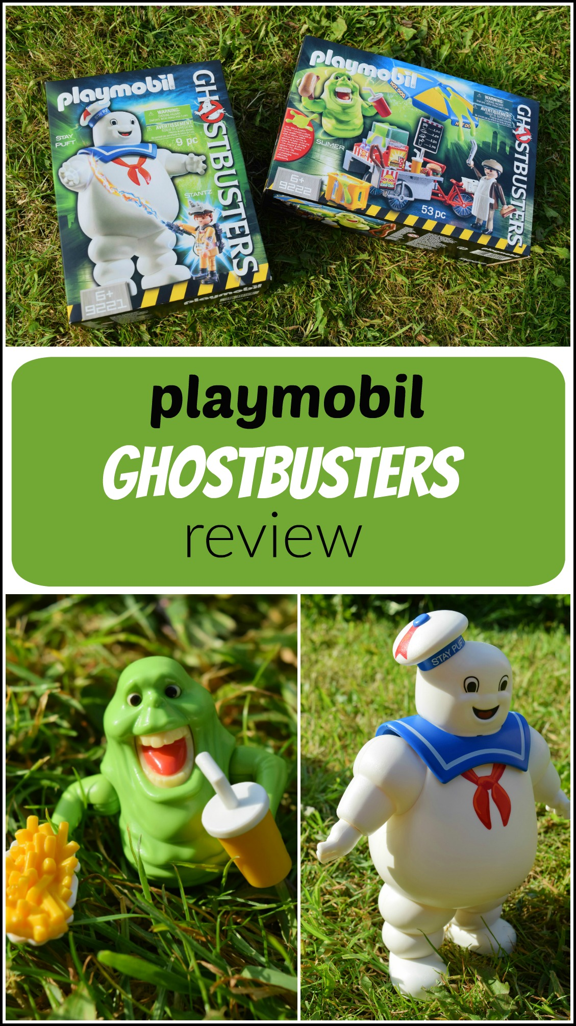 Playmobil Ghostbusters review - pin pinterest