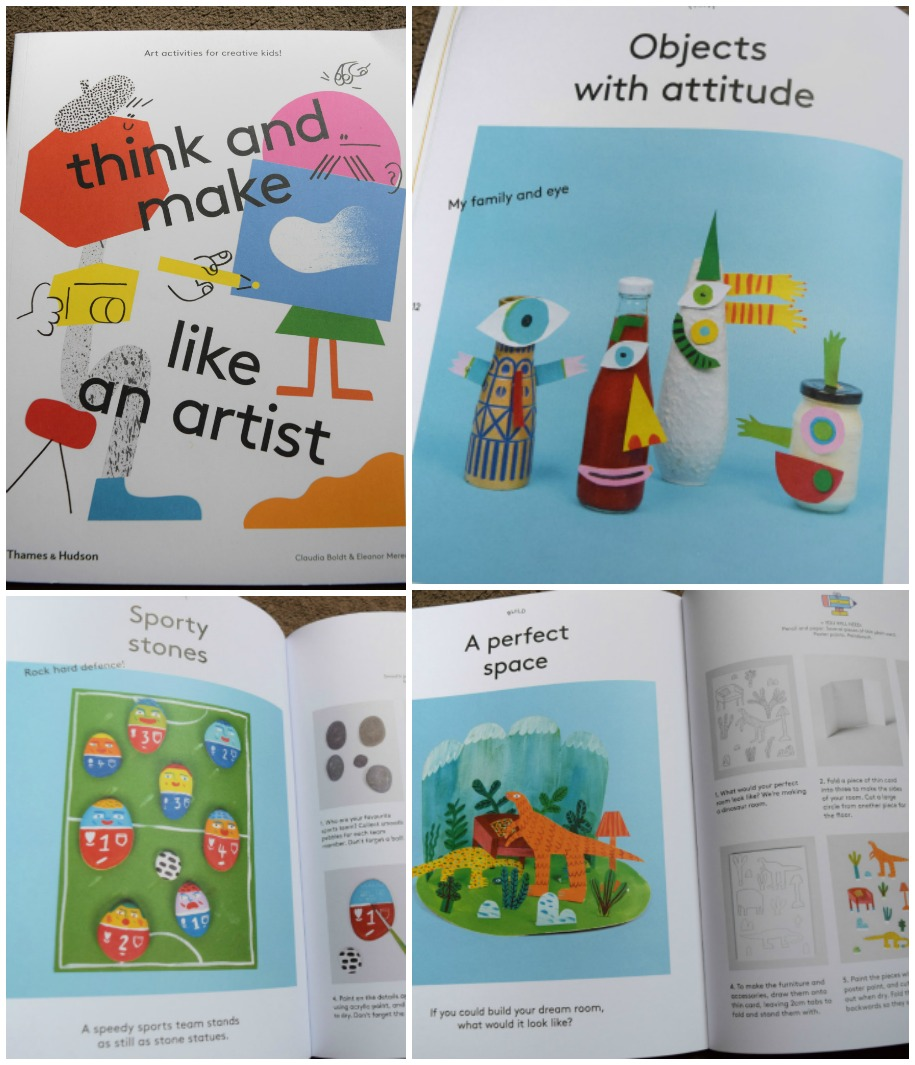 Think and make like an artist book review