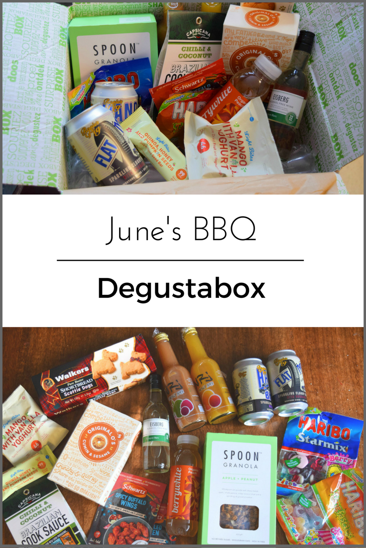 June's BBQ Degustabox Review