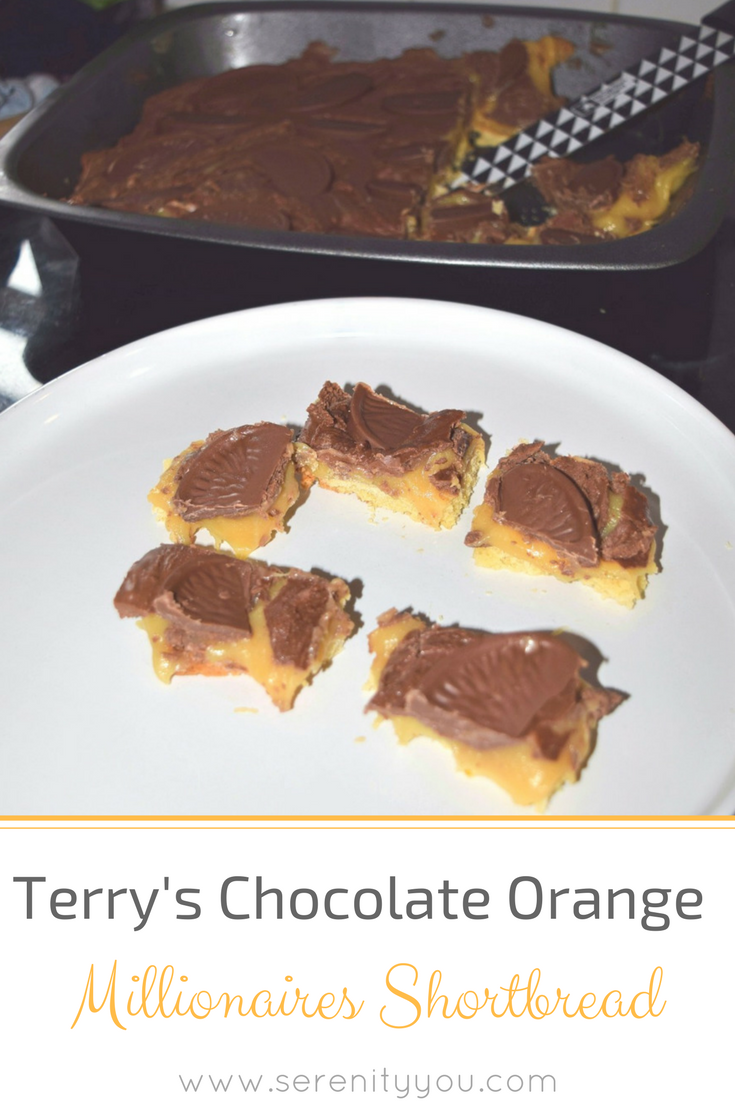 Terry's Chocolate Orange Millionaires Shortbread Recipe