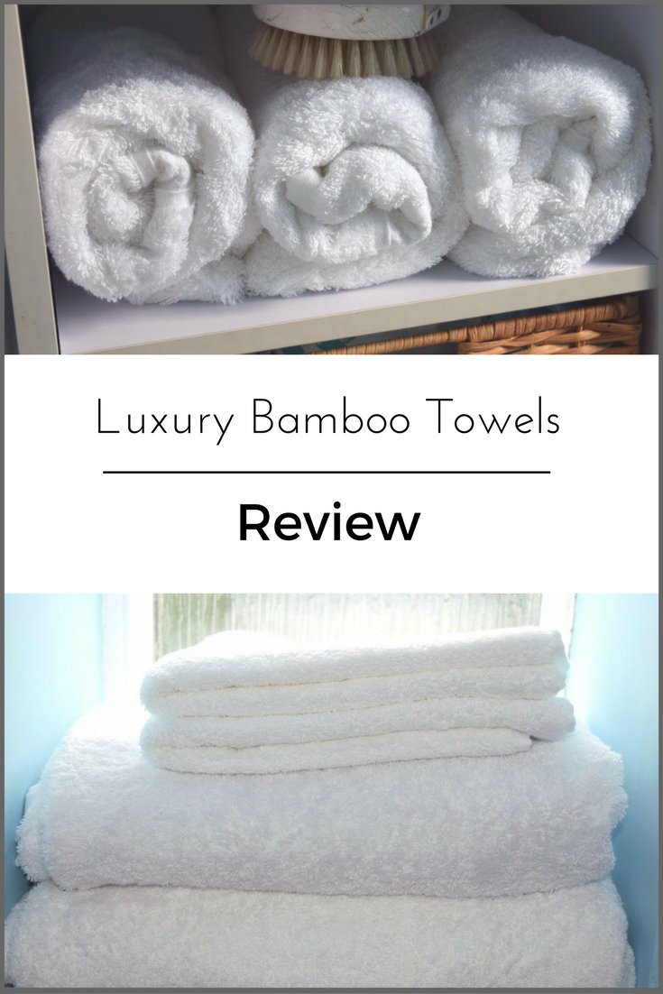Luxury Bamboo towels review - The Towel Shop - Serenity You