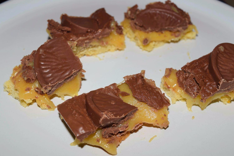 Terry's Chocolate Orange Millionaires Shortbread Recipe
