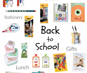 Get Ready for Back to School Time