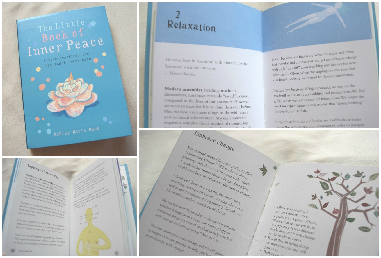 The Little Book of Inner Peace by Ashley Davis Bush Book Review