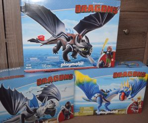 Introducing Playmobil Dragons Range