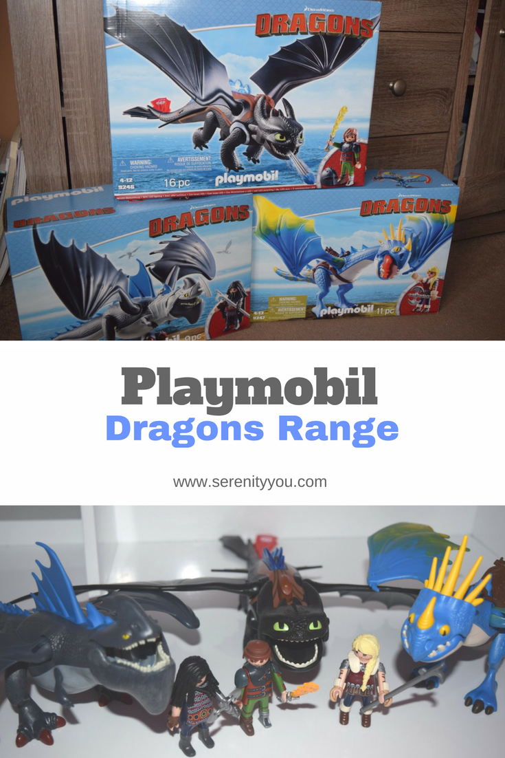 Playmobil Dragons range - How to train your dragon - review