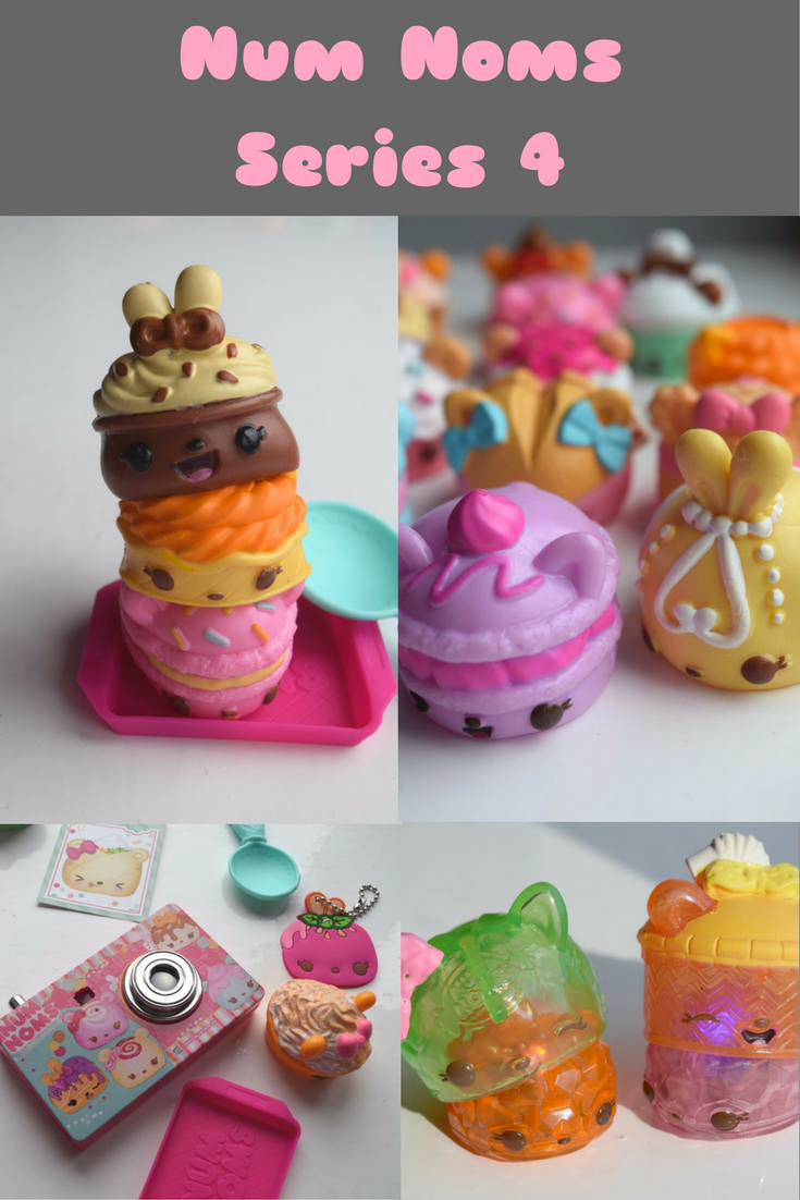 Having fun with Num Noms series 4