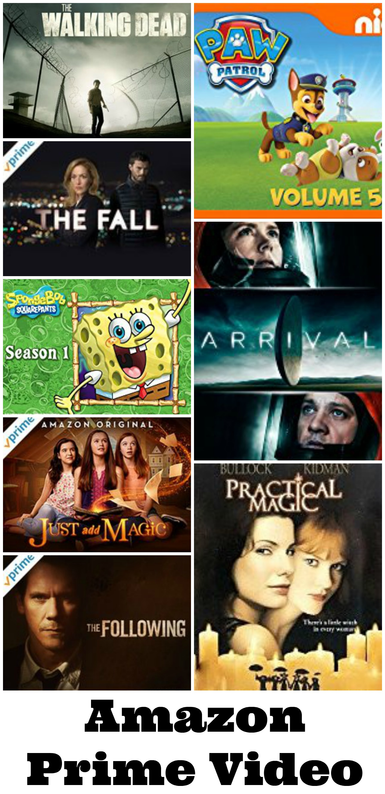 What I have been watching on Amazon Prime Video