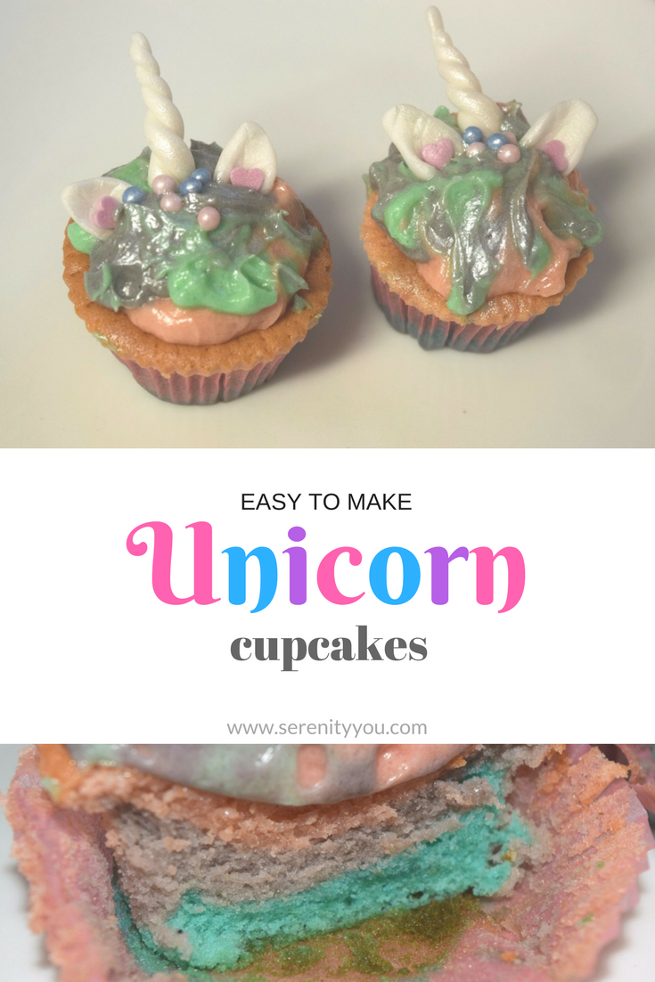 Easy To Make Unicorn Cupcakes | Serenity You