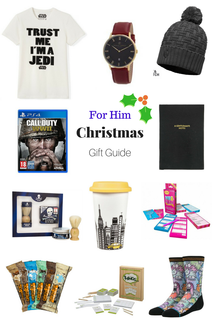For Him Christmas Gift Guide 2017
