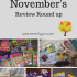 November's Review Round Up