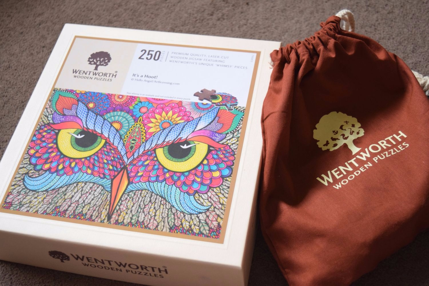 Wentworth Puzzle - It's a Hoot! - Owl Jigsaw review