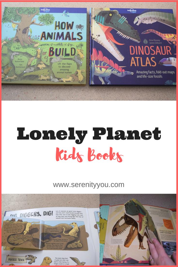 Lonely Planet Kids books - How Animals Build & Dinosaur Atlas