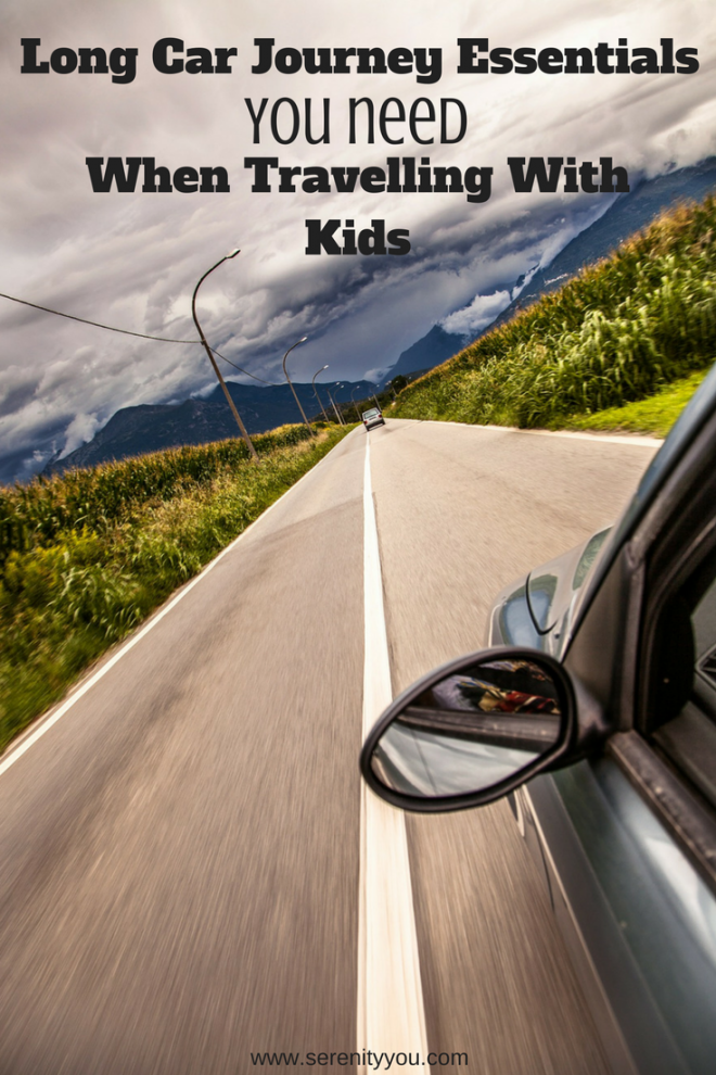 Long Car Journey Essentials You Need When Travelling with Kids