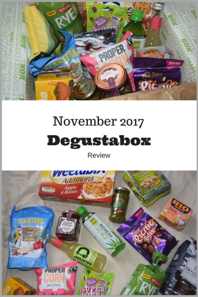 November 2017 Degustabox Review