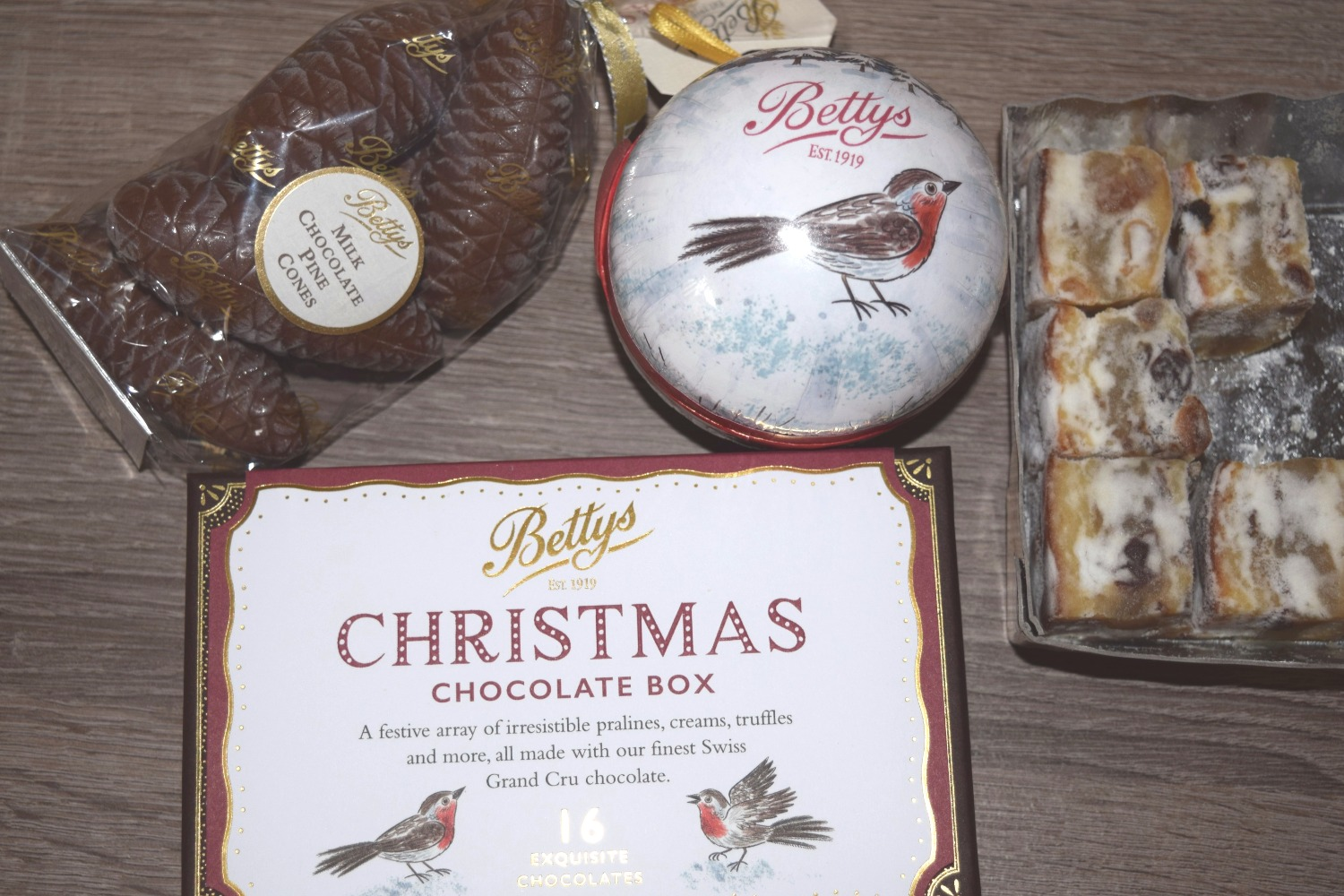 Selection of Betty's Christmas items - Foodies gift guide