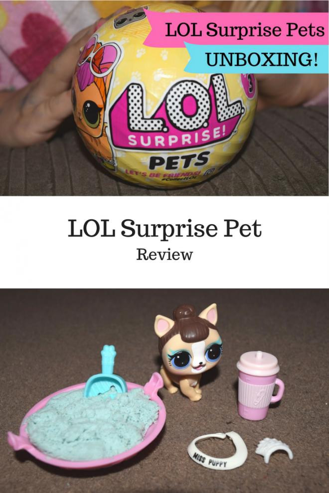 LOL Surprise Pet Review