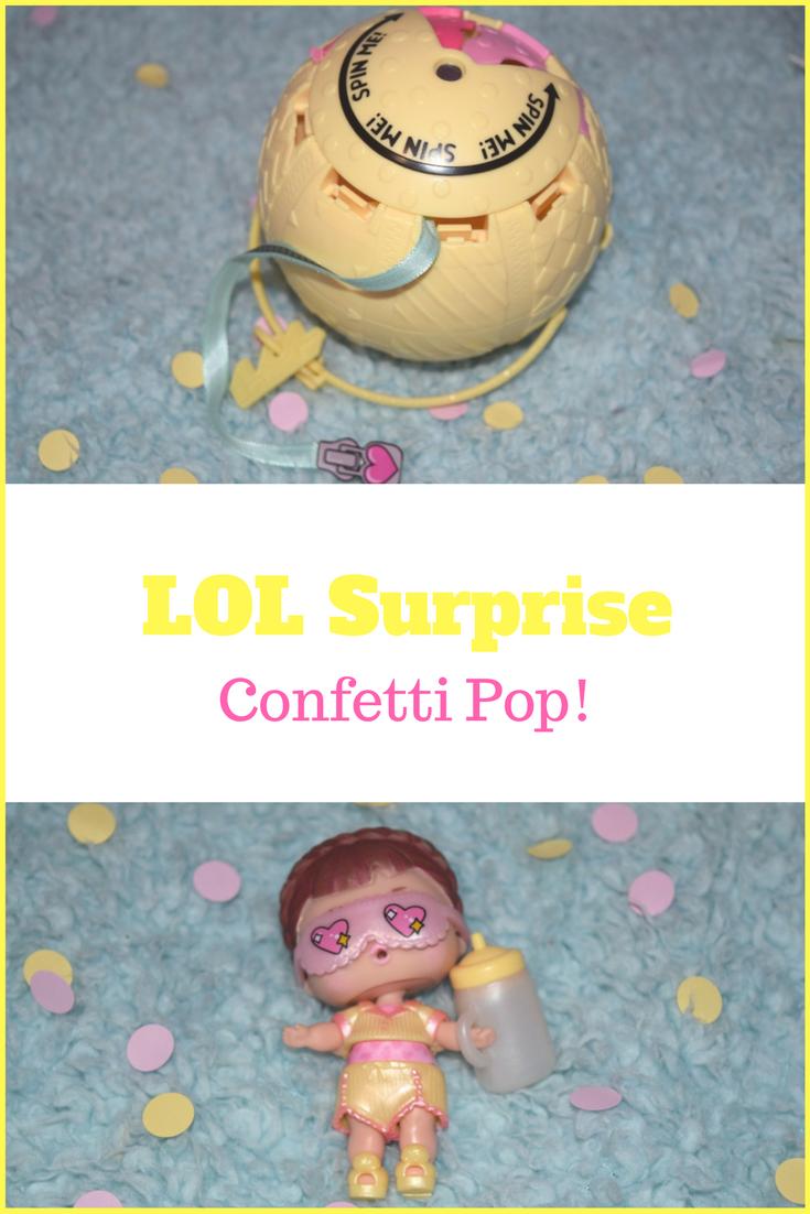 LOL Surprise Confetti Pop review
