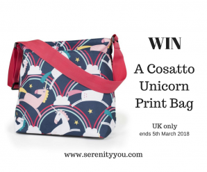 Win a Cosatto Unicorn Print Bag