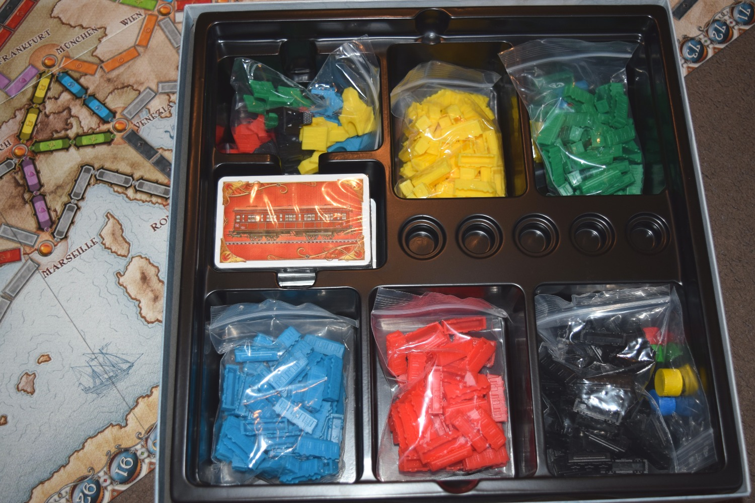 Ticket To Ride : Europe Game Review #BoardGameClub