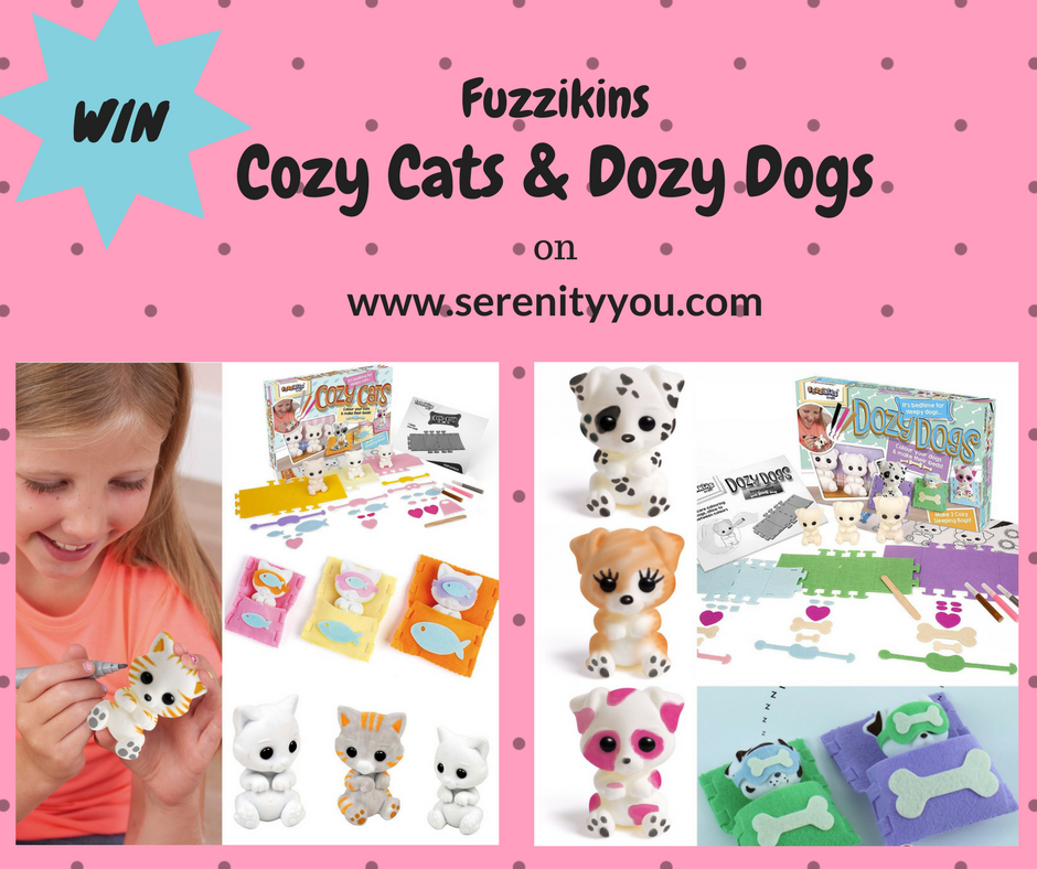 Fuzzikins Dozy Dogs giveaway | Serenity You | win
