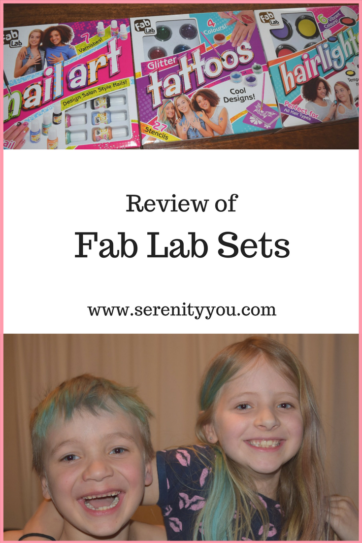 Review of the Fab Lab Sets