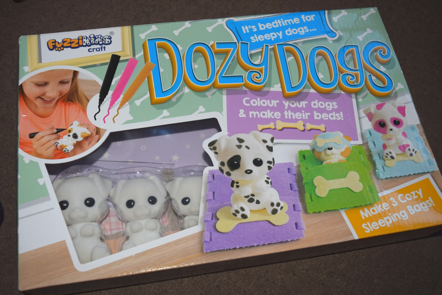 Fuzzikins Dozy Dogs Review | Serenity You