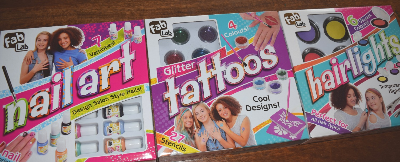 Fab Lab Sets - Nail Art | Glitter Tattoos | Hairlights