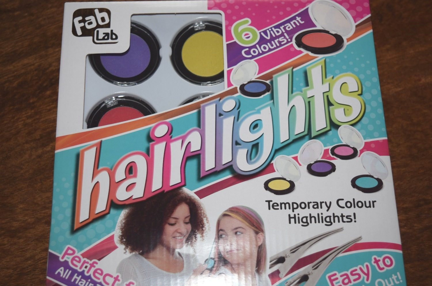 Fab Lab Hairlights - bright hair chalks for kids