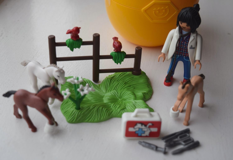 Playmobil Easter Egg Vet with Foal set