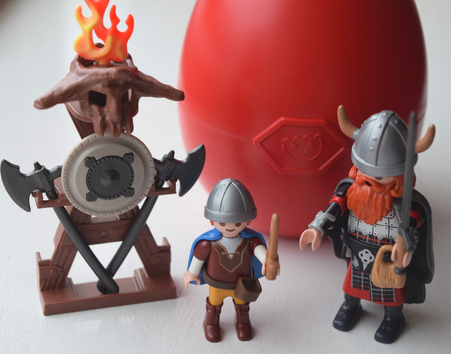 Playmobil Easter egg Vikings with Shield set