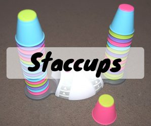 Staccups Game Review + Giveaway