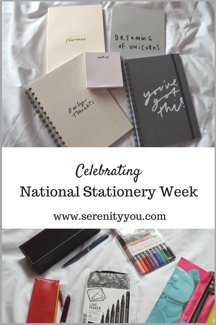 Celebrating National Stationery week