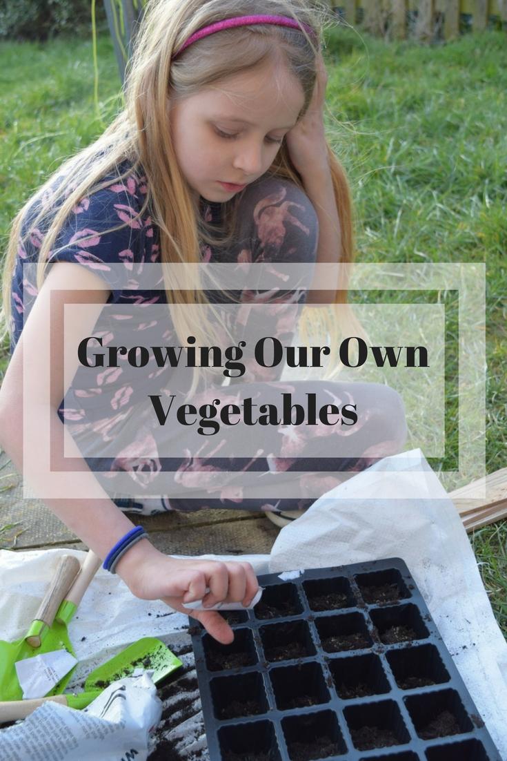 Growing Our Own vegetables #nationalGardeningweek